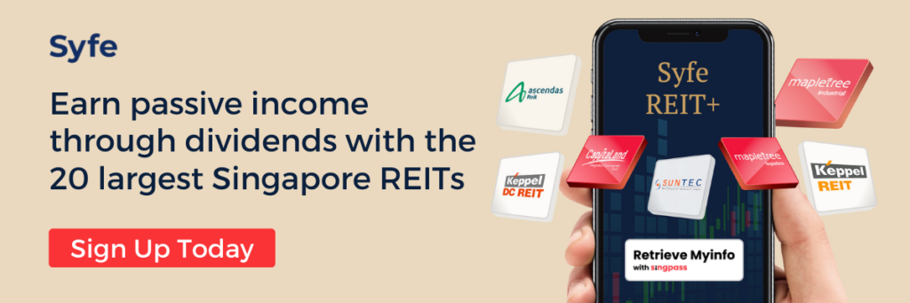 Build your dividend income portfolio with Syfe REIT+ that gives you access to Singapore REITs